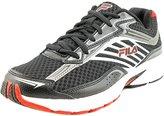 Fila Xtenuate Men US 7 Black Running Shoe