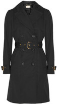 MICHAEL Michael Kors Cotton-blend Trench Coat - Black