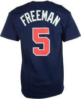 Majestic Men's Freddie Freeman Atlanta Braves Official Player T-Shirt