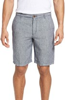 Tommy Bahama Men's Big & Tall Shoreline Stripe Linen Shorts