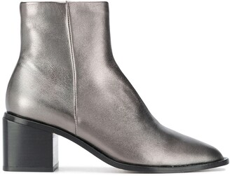 Clergerie Xenia metallic ankle boots