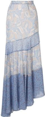 We Are Kindred Amalfi asymmetric skirt