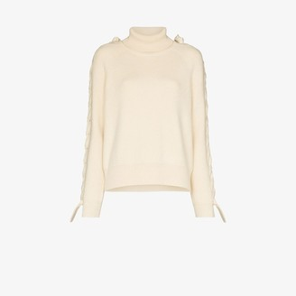 J.W.Anderson Braided Ribbed Knit Sweater