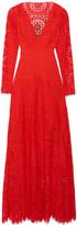 Temperley London Nomi cutout lace gown