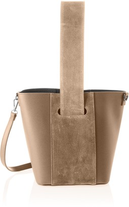 Chicca Borse Women's CBS178484-733 Shoulder Bag Beige Beige (taupe taupe)