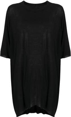 Rick Owens oversize draped T-shirt