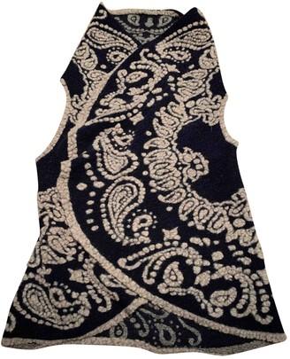 HTC Blue Wool Knitwear for Women