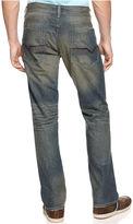 INC International Concepts Jeans, Clarkson Wash Distress Slim Jeans
