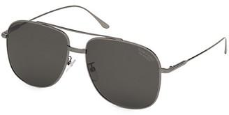 Tom Ford 62MM Polarized Navigator Sunglasses