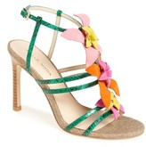 Pelle Moda Women's Essey Strappy Flowered Sandal