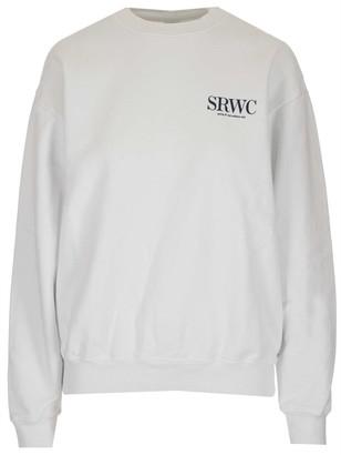 Sporty & Rich Upper East Side Print Crewneck Sweatshirt