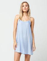Full Tilt Embroidered Slip Dress