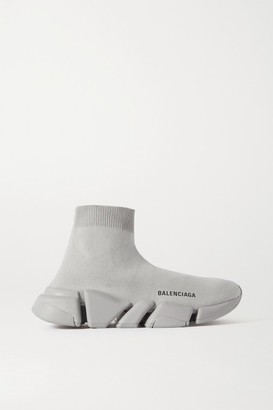 Balenciaga Speed Lt 2.0 Stretch-knit High-top Sneakers