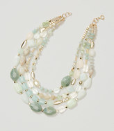 LOFT Wild Plains Multi Strand Bead Necklace