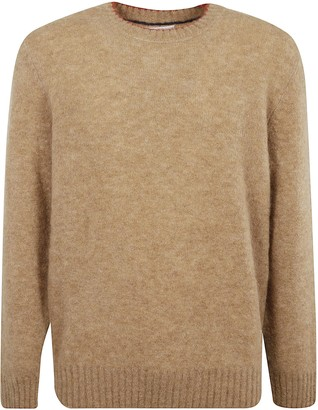 Brunello Cucinelli Ribbed Detail Sweater