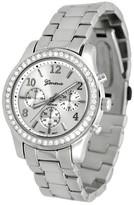 Geneva Platinum Women's Wristwatch Silver