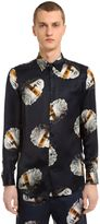 Trussardi Printed Satin Shirt