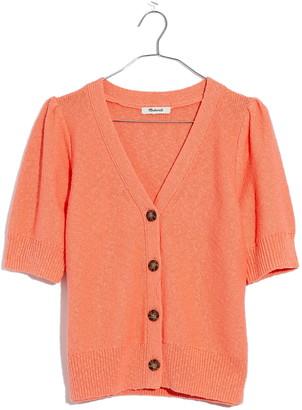 Madewell Short Sleeve Cardigan