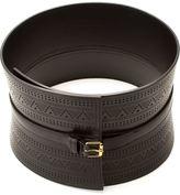Alexander McQueen bridle corset belt