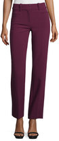 Rebecca Taylor Straight-Leg Suiting Pants