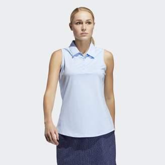 adidas Ultimate365 Sleeveless Polo Shirt