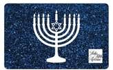 Saks Fifth Avenue Hanukkah Blue Gift Card