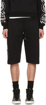 McQ by Alexander McQueen Black Dart Lounge Shorts