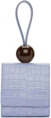 BY FAR Blue Ball Bag