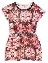 Eleven Paris Little Girl's & Girl's Suki Flower Printed Dress