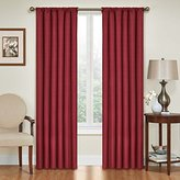 Eclipse Curtains Eclipse Kendall Blackout Thermal Curtain Panel,Ruby,84-Inch