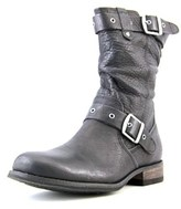Caterpillar Midi Round Toe Leather Mid Calf Boot.