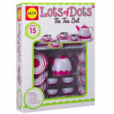 Alex Lots Of Dots Tin Tea Set 15-pc. Play Food