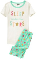 Crazy 8 Stars 2-Piece Shortie Pajama Set