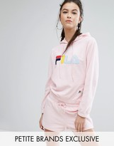Fila Petite Towelling Hoodie With Logo Detail Co-Ord