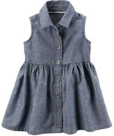 Carter's Chambray Shirt Dress