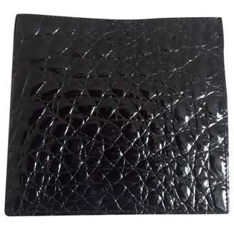 N. Non Signé / Unsigned Non Signe / Unsigned \N Black Patent leather Small bags, wallets & cases