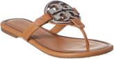 Tory Burch Metal Miller Embellished Leather Sandal