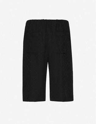 Gucci Longline silk shorts