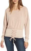 Socialite Women's Corset Sweatshirt