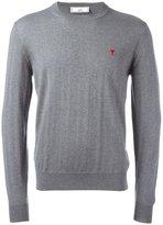 Ami Alexandre Mattiussi Ami de Coeur sweater - men - Merino - XS