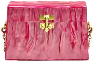 Edie Parker miss mini bag, pink