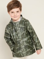 Old Navy Water-Resistant Hooded Zip Jacket for Toddler Boys
