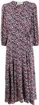 Essentiel Antwerp Vip floral-print wrap dress