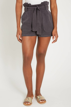 Blank NYC Night Moves Tencel Hi Rise Short Charcoal XS