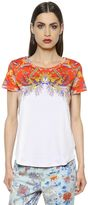 Etro Printed Cotton Jersey T-Shirt