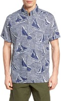 Reyn Spooner Men's Hawaiian Sails Classic Fit Shirt