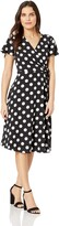 Jessica Howard Jessicahoward JessicaHoward Women's Petite Butterfly Sleeve Fit and Flare Dress