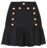 Veronica Beard Morrison Sailor Flounce miniskirt