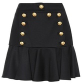 Veronica Beard Wool-blend miniskirt