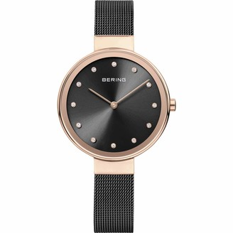 Bering Womens Analogue Quartz Watch with Stainless Steel Strap 12034-166